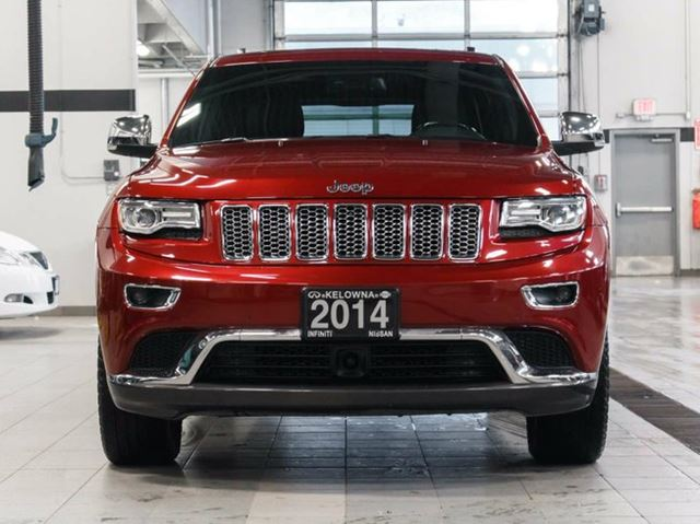 2014 jeep grand cherokee summit 4wd ecodiesel in kelowna british. Cars Review. Best American Auto & Cars Review