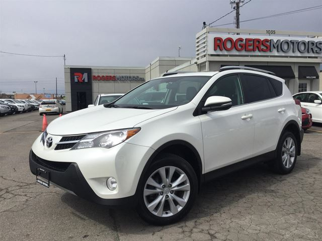 2013 TOYOTA RAV4 LTD AWD - LEATHER - SUNROOF in Oakville, Ontario