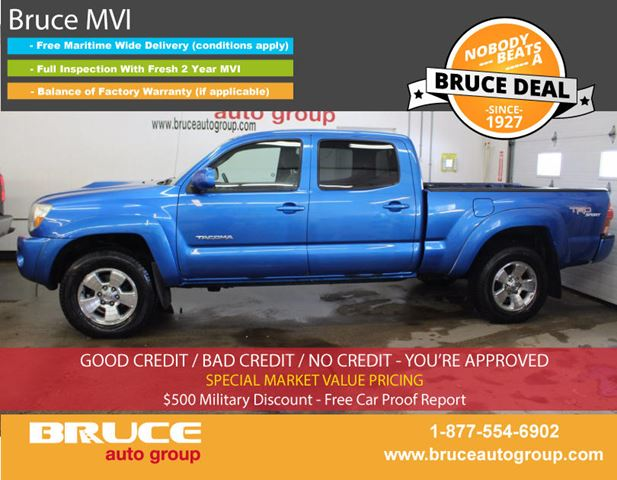2005 TOYOTA TACOMA 4.0L 6 CYL AUTOMATIC 4X4 DOUBLE CAB in Middleton, Nova Scotia