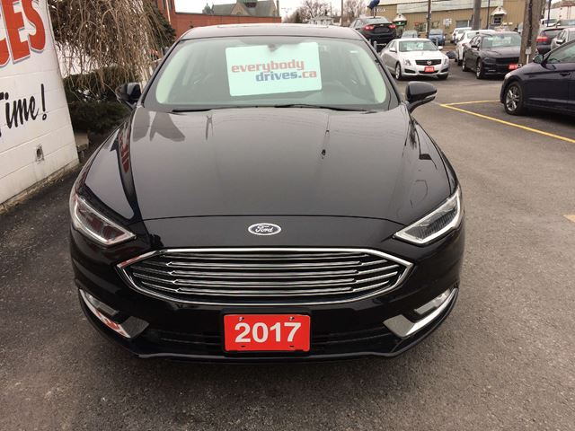 used 2017 ford fusion se all wheel drive leather interior. Black Bedroom Furniture Sets. Home Design Ideas