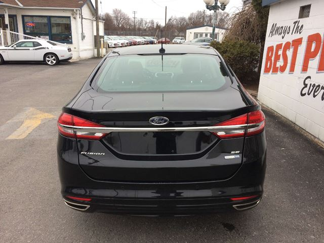 2017 ford fusion se all wheel drive leather interior sunroof oshawa ontario car for sale. Black Bedroom Furniture Sets. Home Design Ideas
