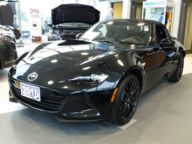 2016 Mazda MX-5 Miata  [NEW] GS 6-Spd, Sport Package in Milton, Ontario