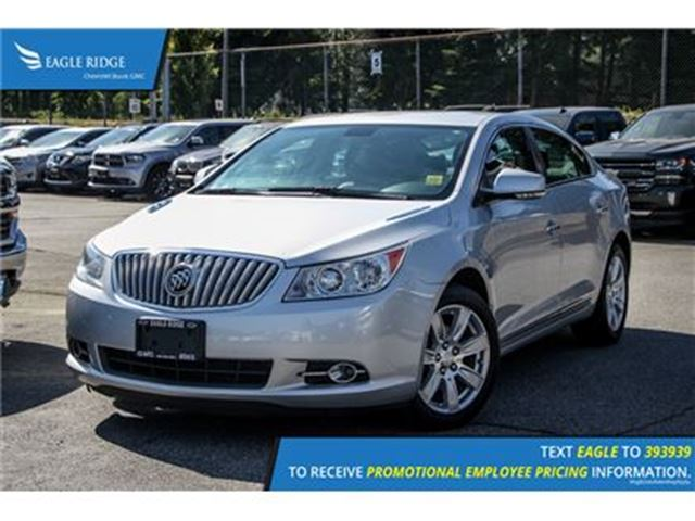 2012 BUICK LACROSSE Convenience Group in Coquitlam, British Columbia