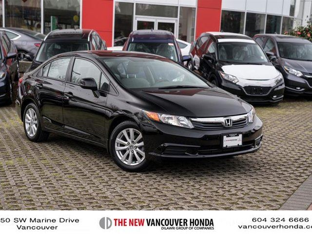 2012 honda civic sedan ex at vancouver british columbia. Black Bedroom Furniture Sets. Home Design Ideas
