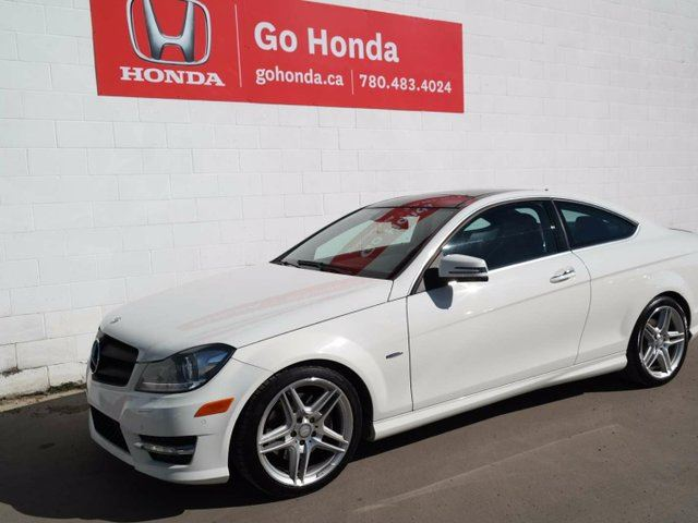 2012 MERCEDES-BENZ C-CLASS C350, AWD, LEATHER, ALLOYS in Edmonton, Alberta