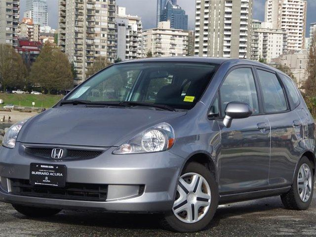 2007 Honda Fit Hatchback LX 5sp in Vancouver, British Columbia