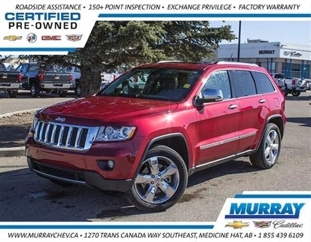 2012 JEEP GRAND CHEROKEE Overland in Medicine Hat, Alberta