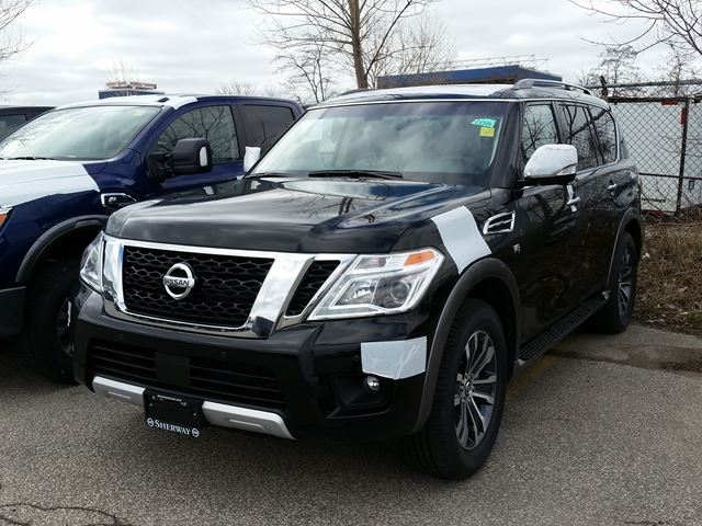 2017 nissan armada sl toronto ontario car for sale 2740995. Black Bedroom Furniture Sets. Home Design Ideas