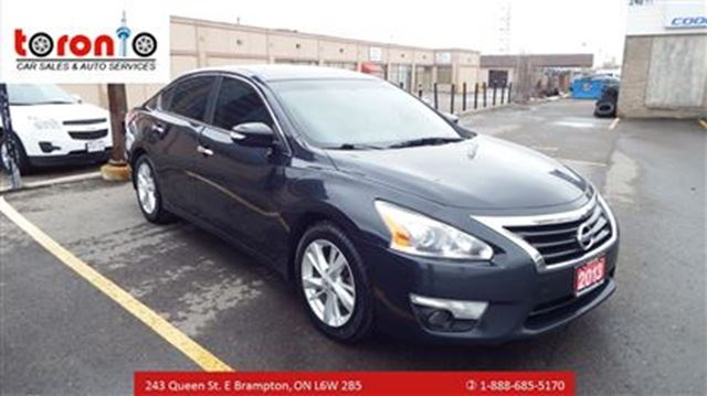2013 nissan altima 2 5 sl tech auto sunroof back up camera satellite brampton ontario car. Black Bedroom Furniture Sets. Home Design Ideas