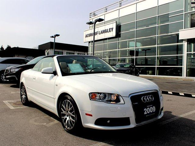 2009 AUDI A4 2.0T Cab at Tip Qtro in Surrey, British Columbia