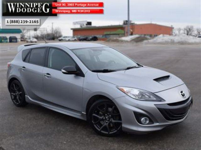 2013 MAZDA MAZDA3 MazdaSpeed *LOCAL TRADE* in Winnipeg, Manitoba
