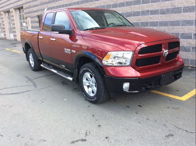 2014 DODGE RAM 1500 OUTDOORSMAN WITH 7 YEAR EXTENDED WARRANTY in Dartmouth, Nova Scotia
