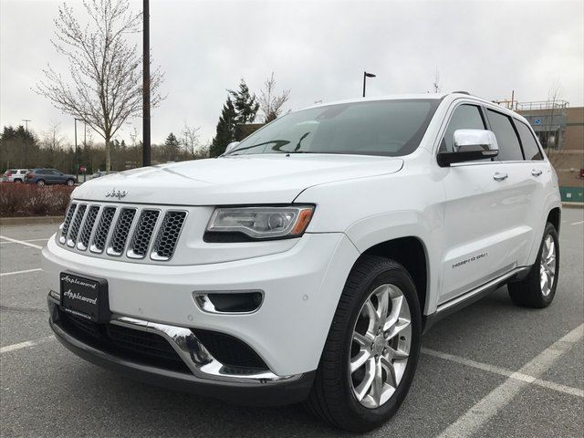 2014 jeep grand cherokee summit langley british columbia used car. Cars Review. Best American Auto & Cars Review
