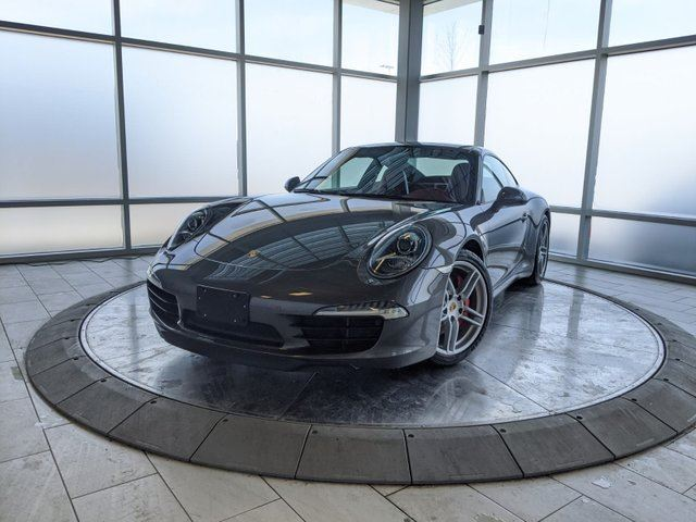 2012 PORSCHE 911 High Spec - Grey on Red 911 Carrera S in Edmonton, Alberta