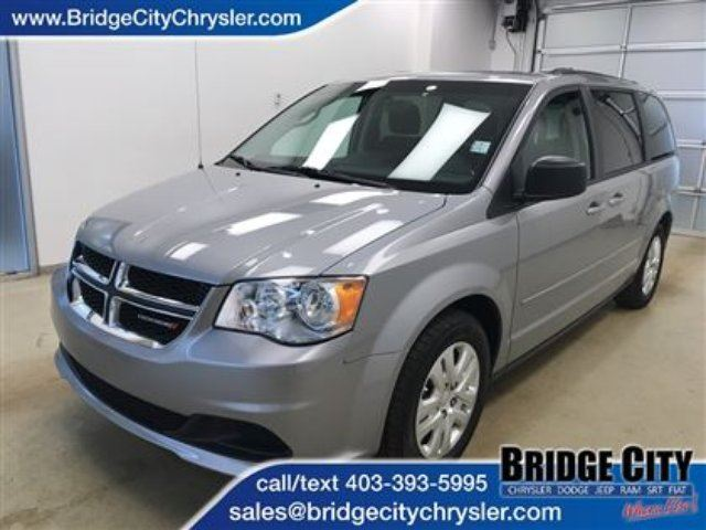 2015 Dodge Grand Caravan SXT- Remote Start, Full Stow n Go and Rear Heat an in Lethbridge, Alberta