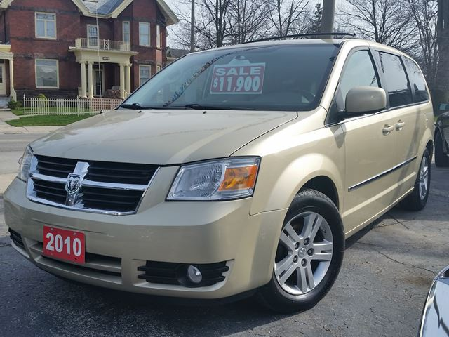 2010 Dodge Grand Caravan SXT,4.0 LTR,POWER SEAT,POWER SLIDING DOORS,POWER PEDALS,REMOTE START,ALLOYS,STO@GO,CENTRE QUAD SEATING in Dunnville, Ontario