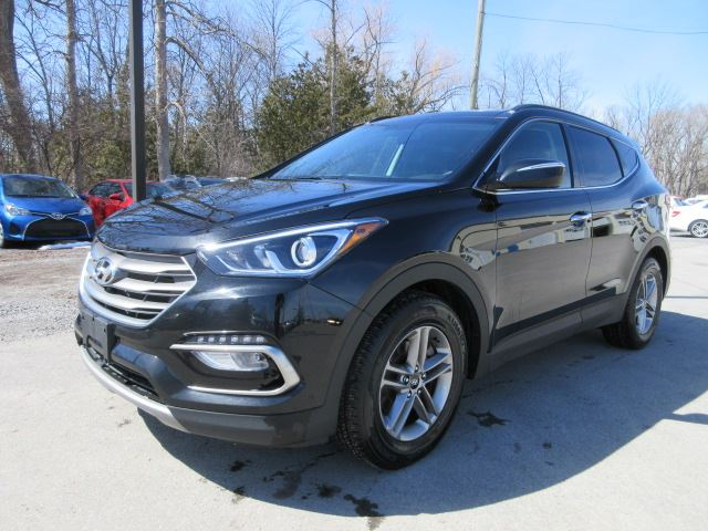 2017 hyundai santa fe se awd roof leather 23k stittsville ontario used car for sale 2743635. Black Bedroom Furniture Sets. Home Design Ideas