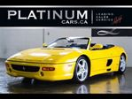 1999 Ferrari 355  SPIDER, F1, FLY YELLOW, COMPLETE BOOKS, RARE in North York, Ontario