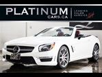 2014 Mercedes-Benz SL-Class SL63 AMG, NAVI, PANO ROOF, $893/BIWEEKLY in North York, Ontario