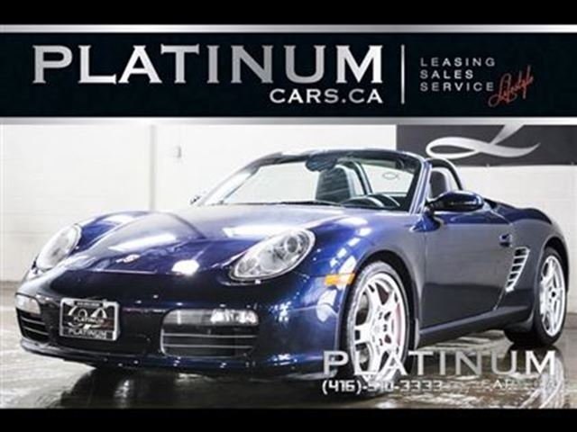 2005 PORSCHE BOXSTER S, CONVERTIBLE, LEATHER, SPORTS SEATS in North York, Ontario