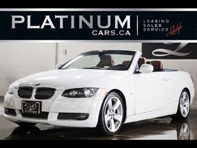 2010 BMW 3 Series 335i Convertible, PWR HARDTOP, NAVI, $316/BIWEEKLY in North York, Ontario