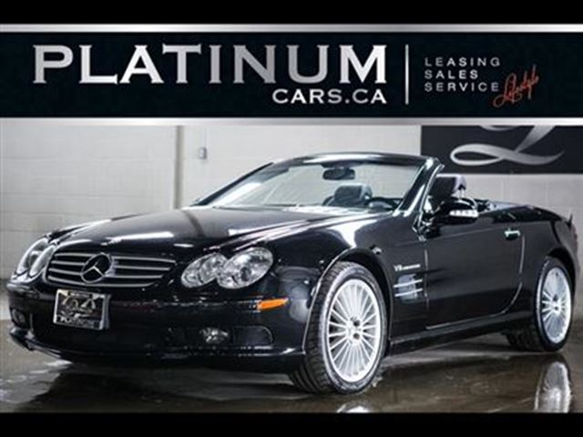 2003 Mercedes-Benz SL-Class SL55 AMG, HARDTOP, NAVI, LEATHER in North York, Ontario
