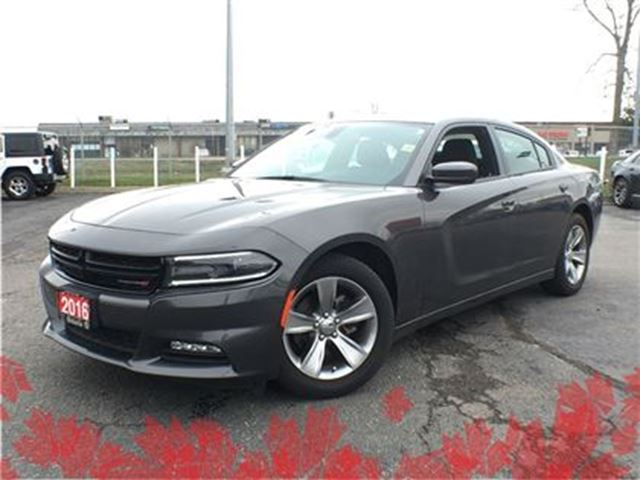 2016 Dodge Charger SXT**SUNROOF**8.4 TOUCHSCREEN**NAVIGATION**HEATED in Mississauga, Ontario