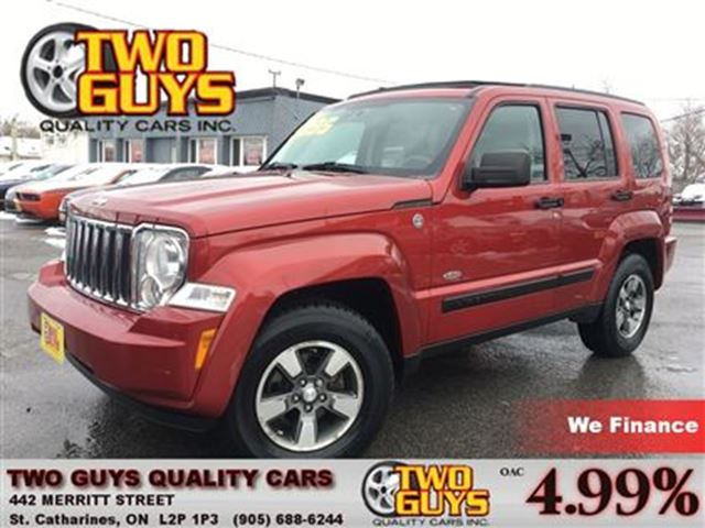 2008 Jeep Liberty Sport 4WD SUN ROOF NICE LOCAL TRADE IN! in St Catharines, Ontario