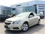 2014 Chevrolet Cruze LT One owner, accident free in Mississauga, Ontario