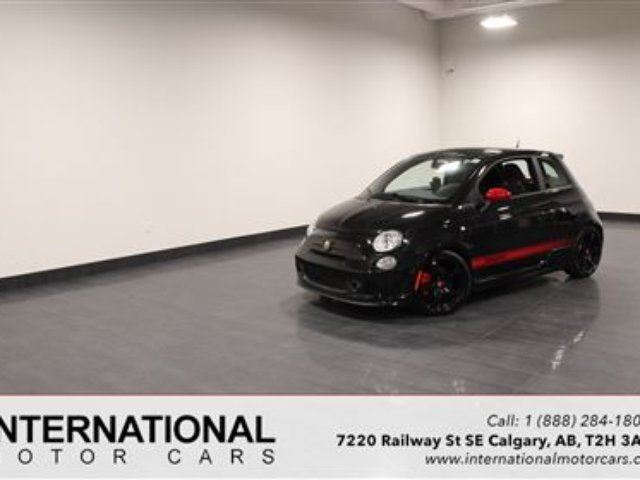 2012 FIAT 500 TURBO! HIGHLY MODIFIED! LOW KMS! in Calgary, Alberta