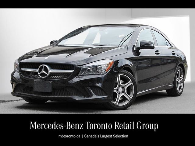 2014 mercedes benz cla250 coupe nocturnal black mercedes for Mercedes benz downtown