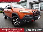 2015 Jeep Cherokee Trailhawk W/ SAFETY TEC GROUP, FULL PARK ASSIST & PANORAMIC SUNROOF in Surrey, British Columbia