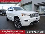 2017 Jeep Grand Cherokee Overland ACCIDENT FREE w/ 4X4, LEATHER & NAVIGATION in Surrey, British Columbia