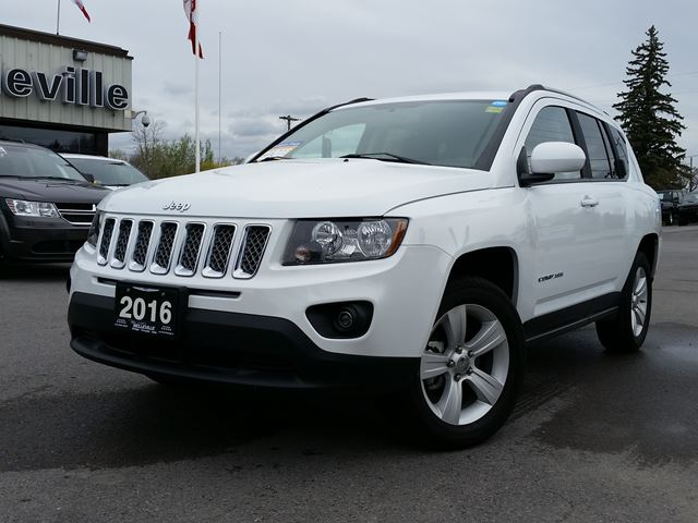 2016 jeep compass high altitude remote start sunroof belleville ontario car for sale 2719725. Black Bedroom Furniture Sets. Home Design Ideas