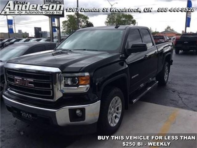 2015 GMC Sierra 1500 SLE  - Bluetooth -  Onstar - Low Mileage in Woodstock, Ontario