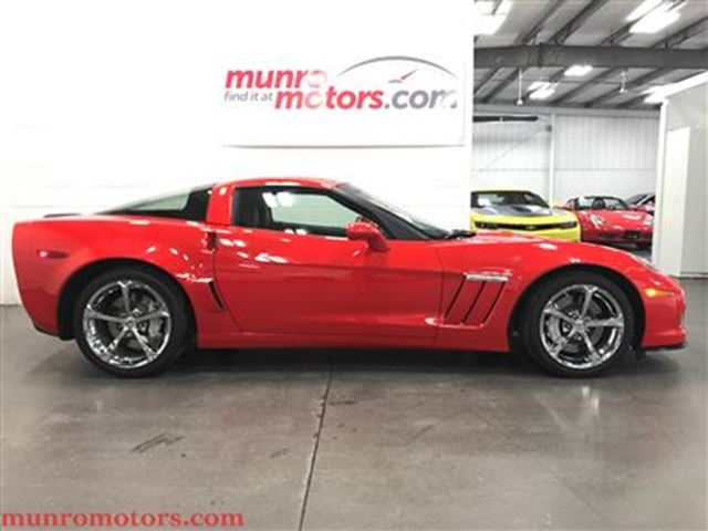 2011 Chevrolet Corvette Grand Sport Auto Chrome NPP Perf Exhaust  6 kms in St George Brant, Ontario