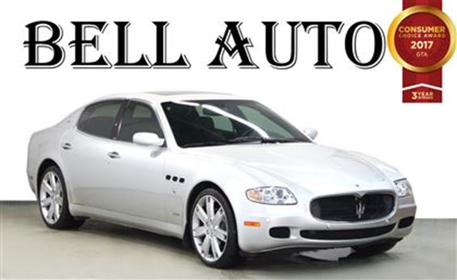 2007 MASERATI QUATTROPORTE GT LEATHER SEATS- POWER MOONROOF in Toronto, Ontario