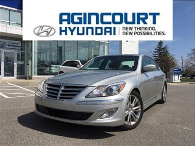 2012 Hyundai Genesis 3.8 TECH/NAVI/LEATHER/OFF LEASE/ONLY 54746KMS in Toronto, Ontario