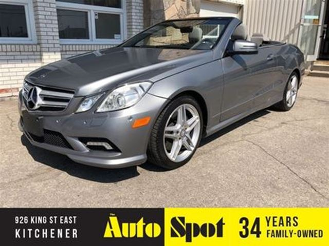 2011 Mercedes-Benz E-Class E550/ A VERY DESIRABLE CAR! in Kitchener, Ontario