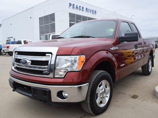 2014 FORD F-150 XLT 4x4 SuperCab 6.5 ft. box 145 in. WB in Peace River, Alberta