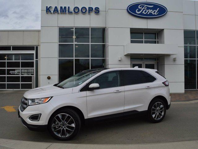 2016 FORD EDGE Titanium 4dr All-wheel Drive in Kamloops, British Columbia