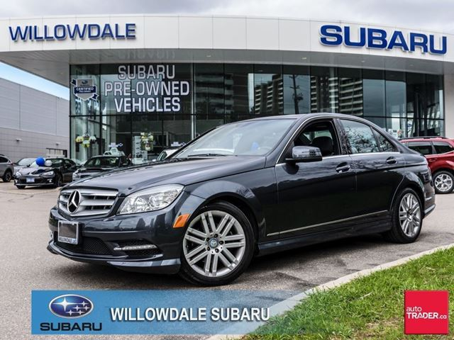 2011 mercedes benz c250 4matic sedan thornhill ontario for Mercedes benz ontario dealers