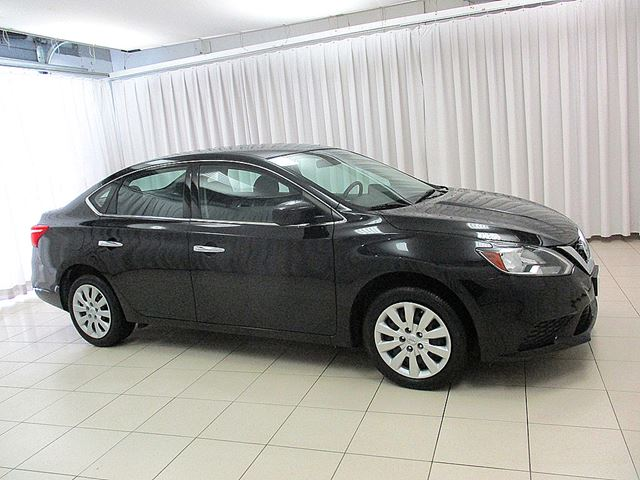 2016 nissan sentra 1 8s sedan w bluetooth steering wheel. Black Bedroom Furniture Sets. Home Design Ideas