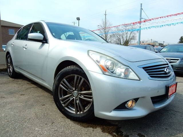 2010 INFINITI G37 x LUXURY  NAVIGATION  LEATHER.ROOF  BACK UP CAM in Kitchener, Ontario