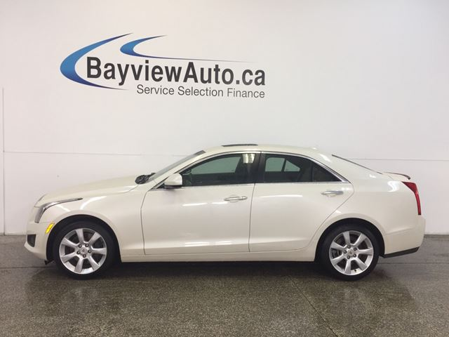 2014 CADILLAC ATS - TURBO! AWD! SUNROOF! LEATHER! BOSE! ON STAR! in Belleville, Ontario