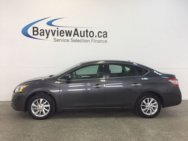 2015 NISSAN SENTRA SV- ALLOYS! HEATED SEATS! REVERSE CAM! 5800 KM! in Belleville, Ontario