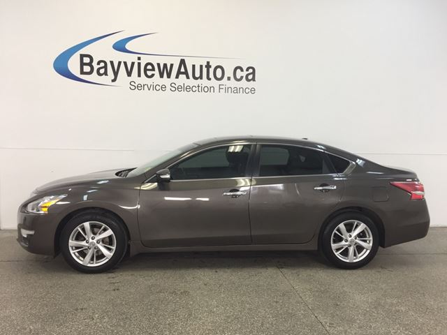 2013 NISSAN ALTIMA SL- REM START! ROOF! LEATHER! REV CAM! BOSE! 47KM! in Belleville, Ontario