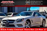 2016 Mercedes-Benz SL-Class  DrvrAsst.,DesignoRedPkgs Sunroof MagicSky Nav Massage 19Alloys  in Thornhill, Ontario