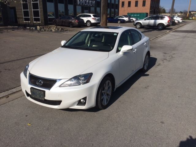 2013 lexus is 250 4dr sdn awd mississauga ontario used. Black Bedroom Furniture Sets. Home Design Ideas