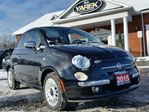 2015 Fiat 500 Lounge C, Convertible, Leather Heated Seats, Bluetooth, Park Sensors in Paris, Ontario